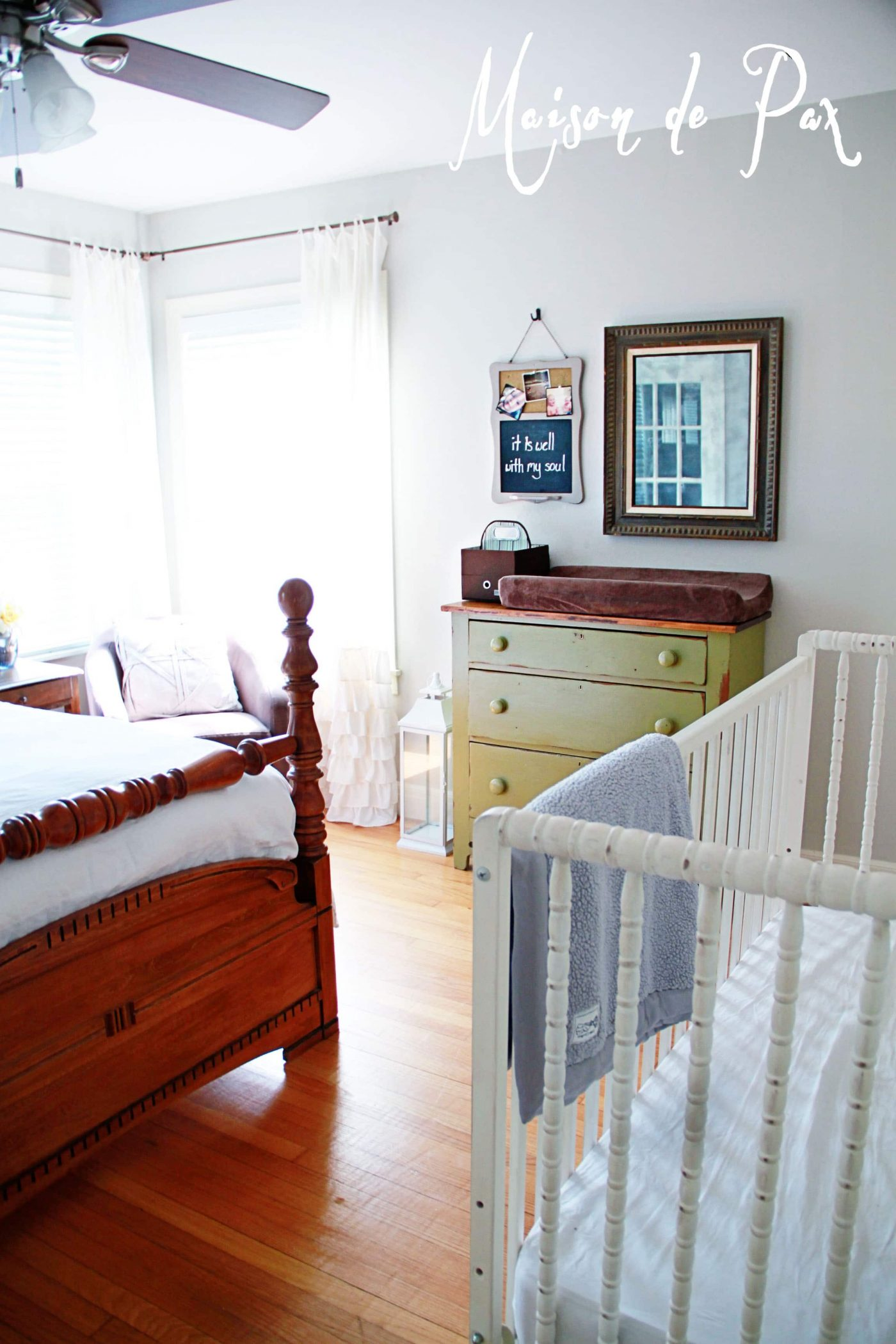 Guest Room AND Nursery Reveal