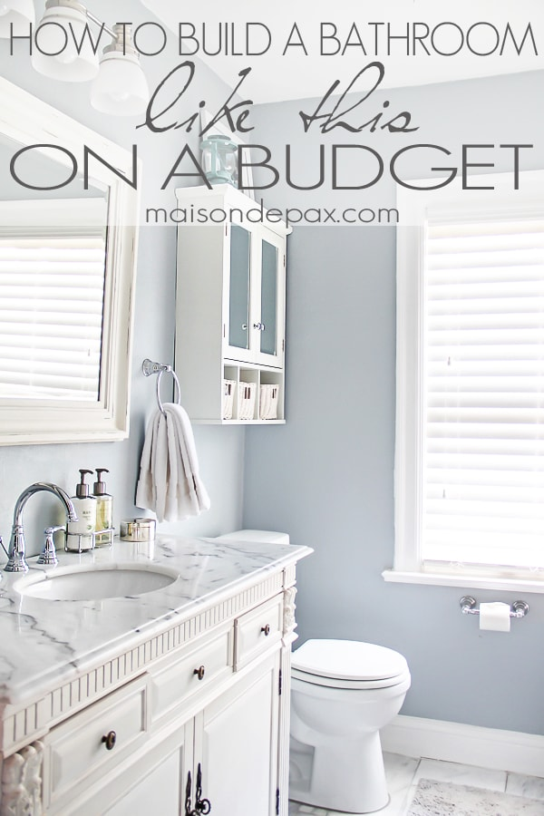 Bathroom renovations budget tips for Bathroom remodel ideas on a budget