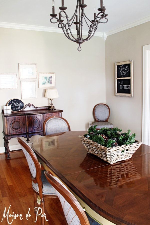 gorgeous dining room makeover - Maison de Pax