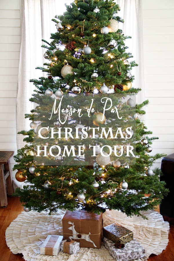 christmas tour sign- Maison de Pax