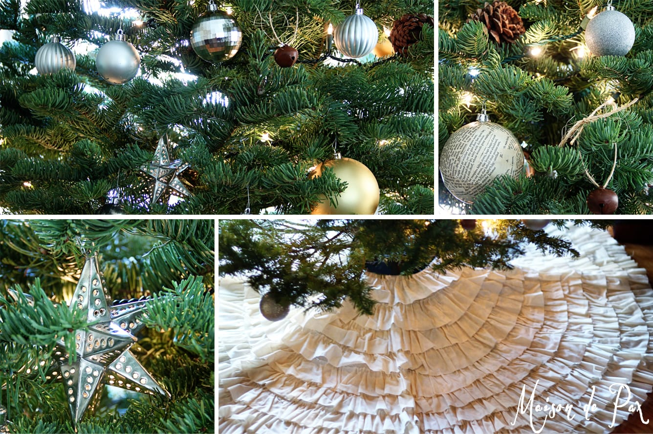 christmas tour tree collage- Maison de Pax