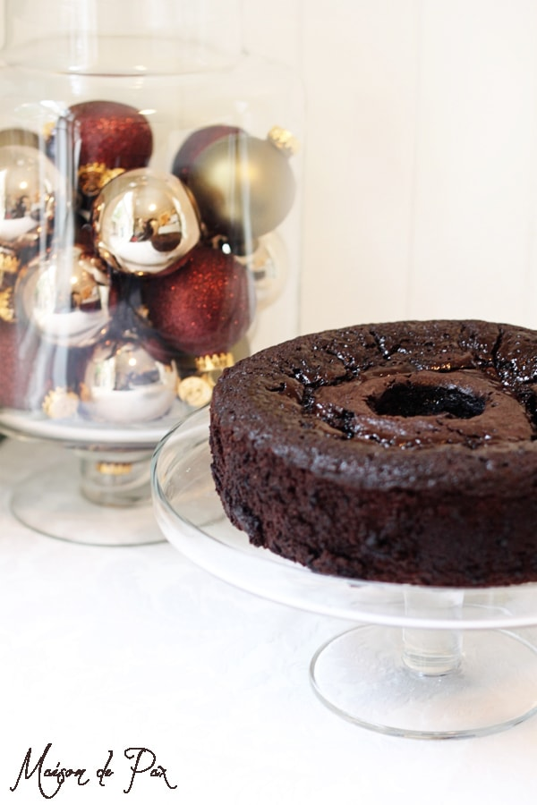 coffee kahlua chocolate cake... a perfect combination