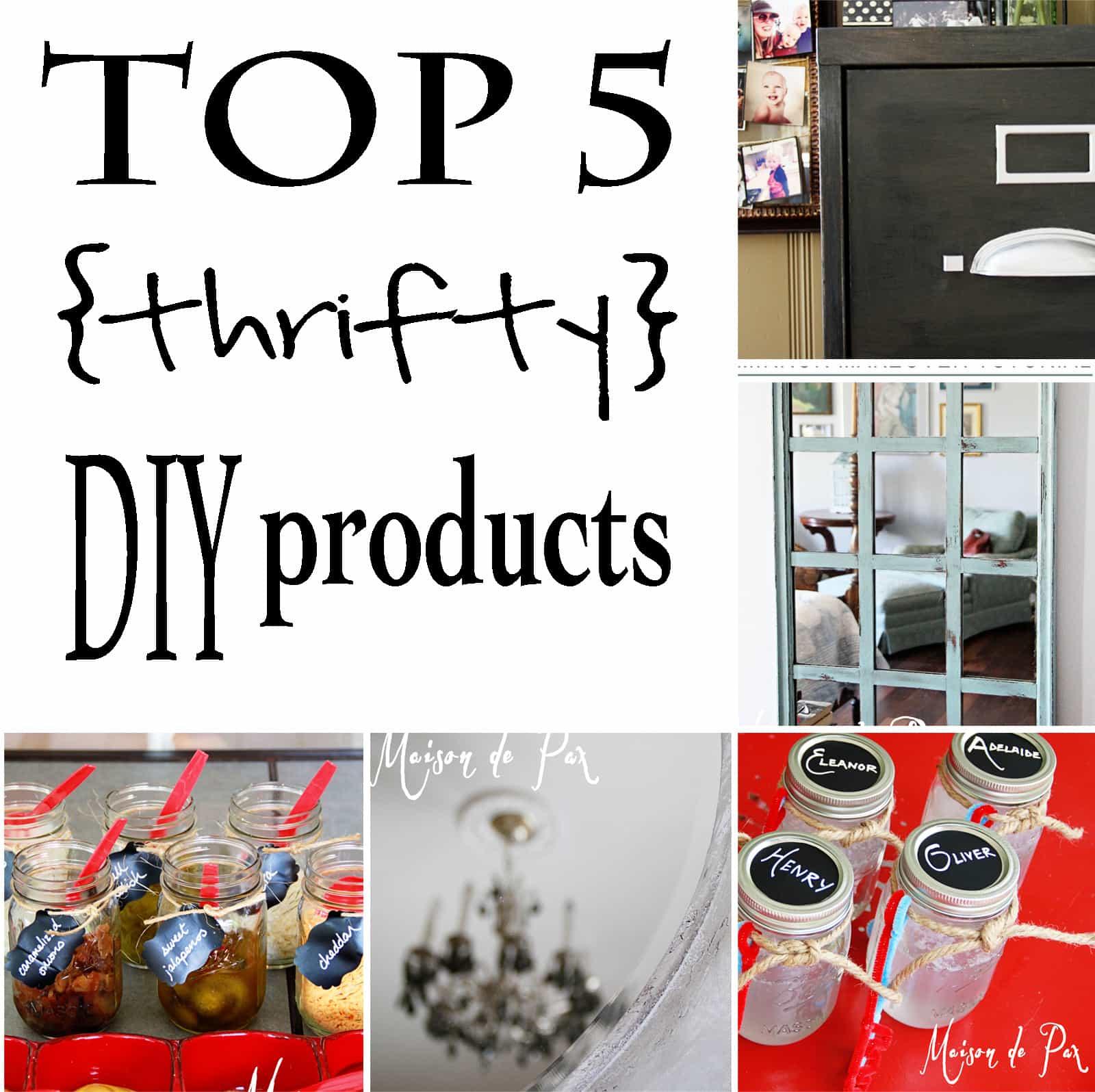 top 5 diy products