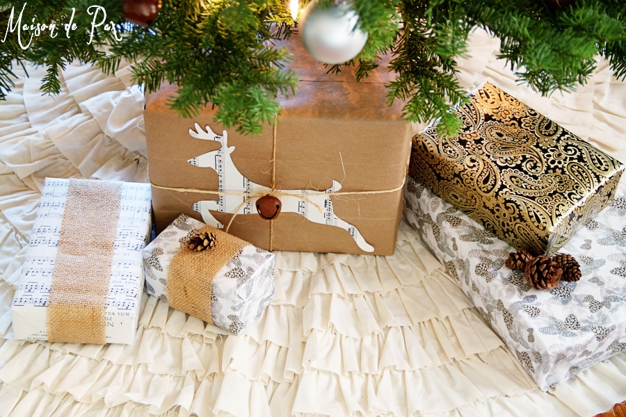 simple and stunning gift wrap ideas