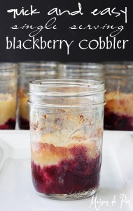 Confessions {and Blackberry Cobbler}