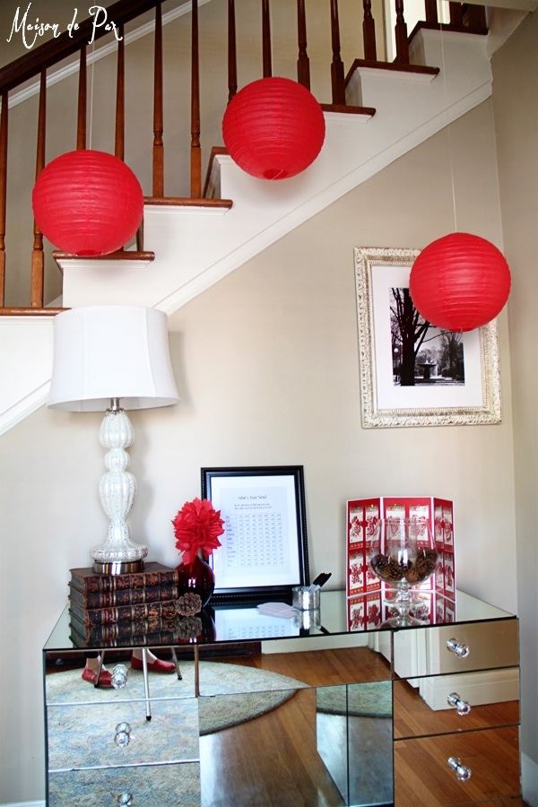 chinese new year entryway