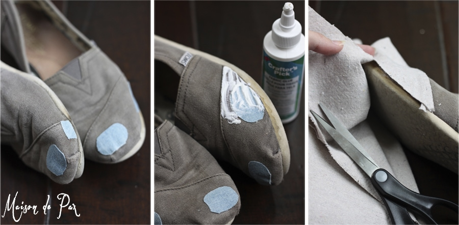 toms repair steps 1-3