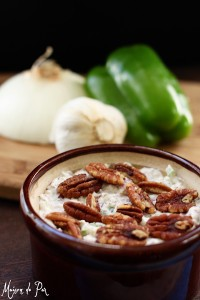 Warm and Zesty Cream Cheese Spread