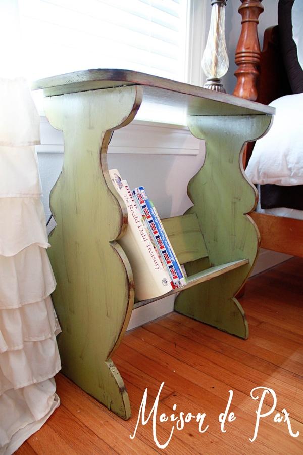 green bedside- Maison de Pax