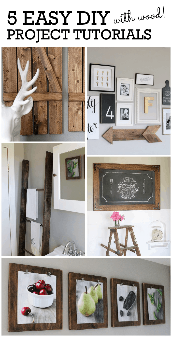 Don't miss these 5 fabulous tutorials you can use to transform your space!
