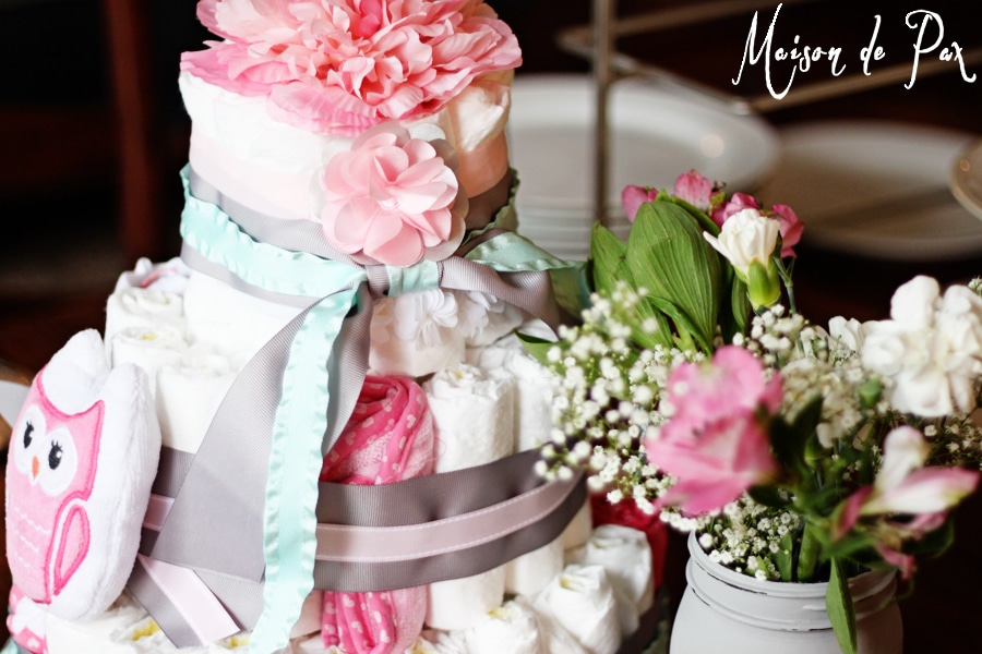 An easy-to-follow tutorial at maisondepax.com to create your own diaper cake; you couldn't have a more beautiful and practical gift for a mother-to-be!