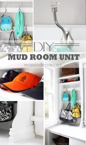 DIY Mud Room Unit