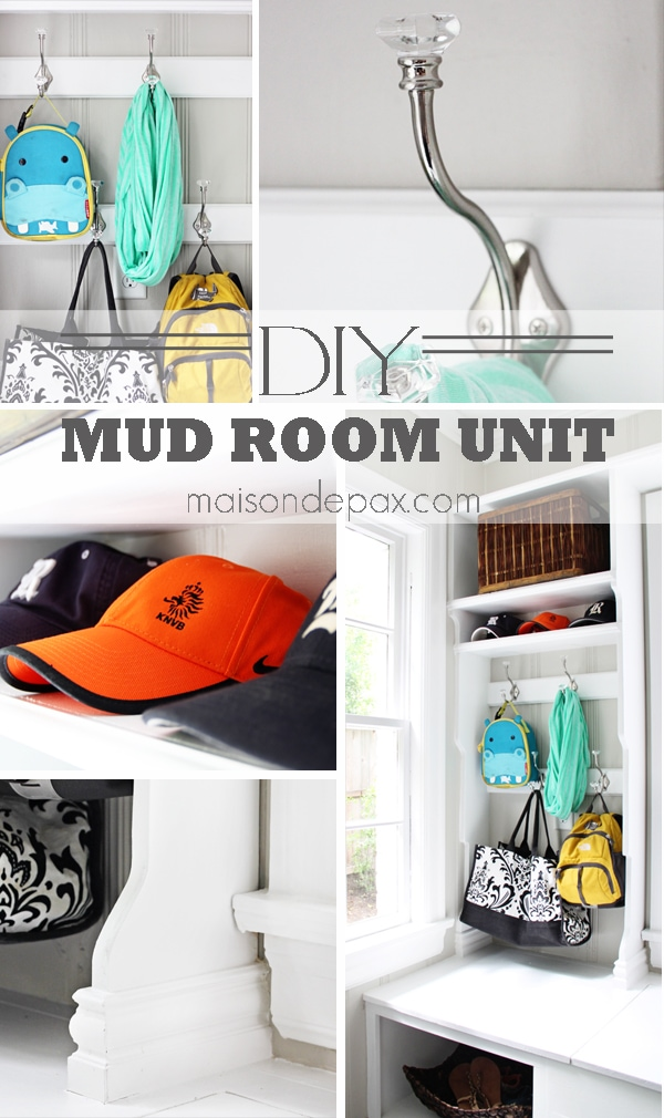 Functional Mudroom- Maison de Pax