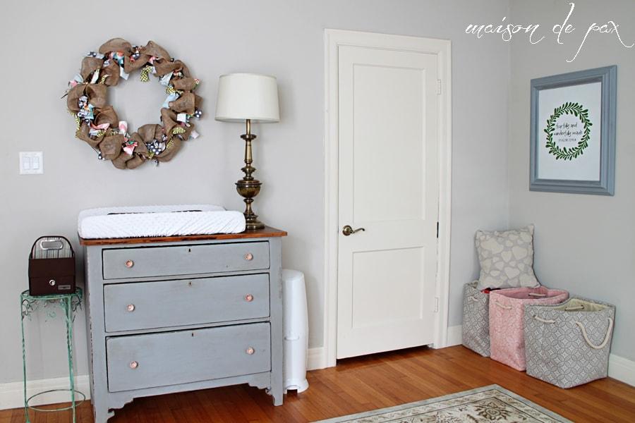 Baby Girl Nursery- Maison de Pax