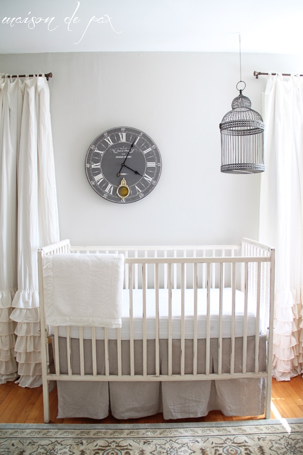 gorgeous nursery makeover- Maison de Pax