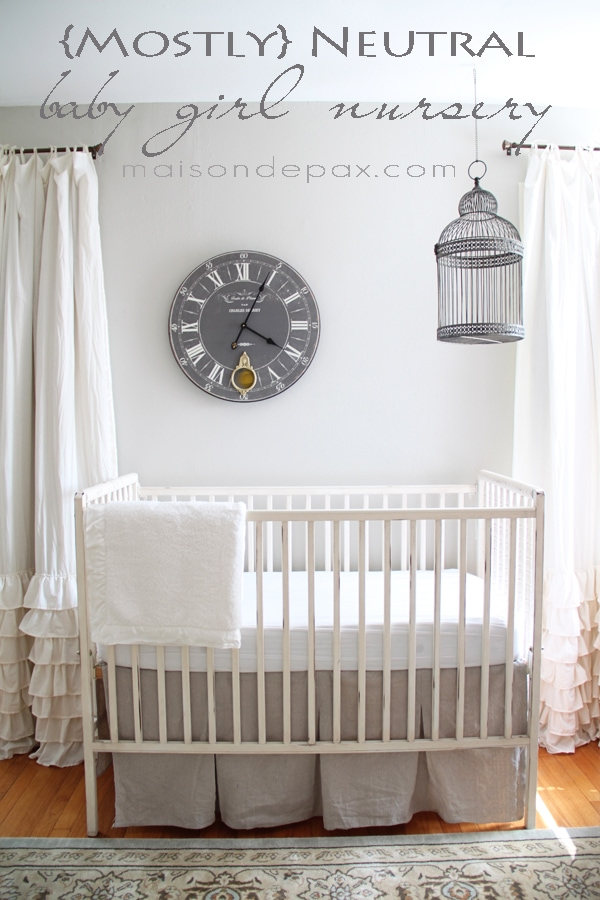 Gorgeous, subtle, mostly neutral nursery - Maison de Pax