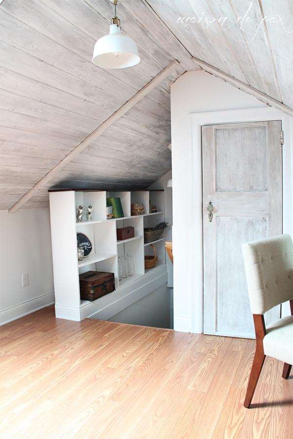 attic guest room- Maison de Pax