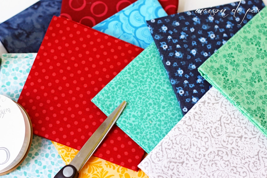 adorable and EASY no-sew bunting at maisondepax.com