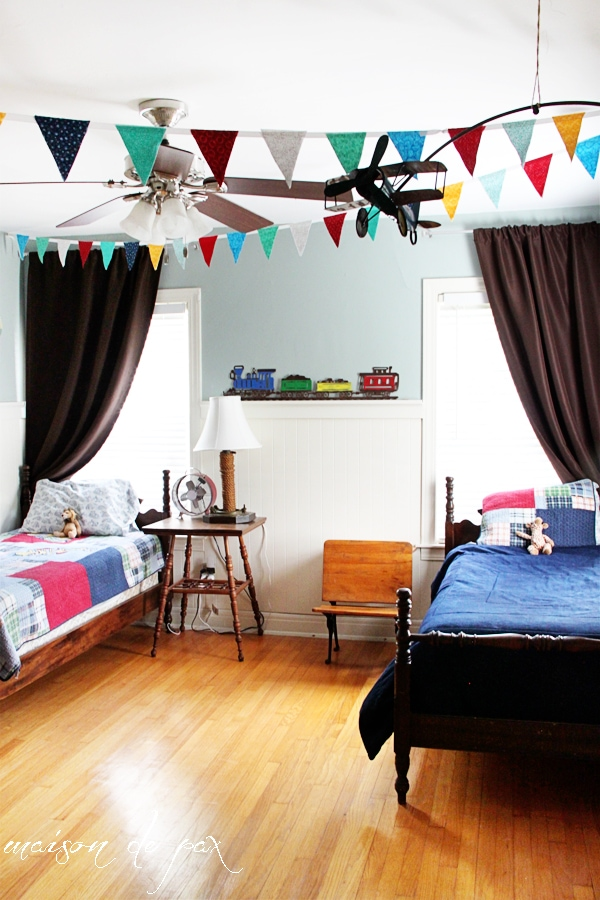 gorgeous boys' room makeover - Maison de Pax