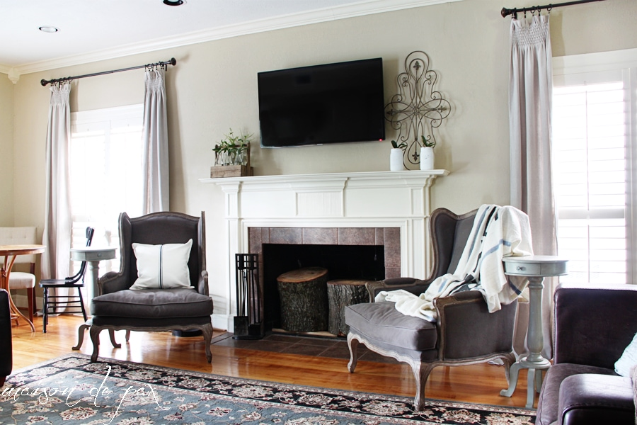 gorgeous living room makeover - Maison de Pax