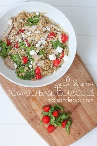 Tomato Basil Couscous