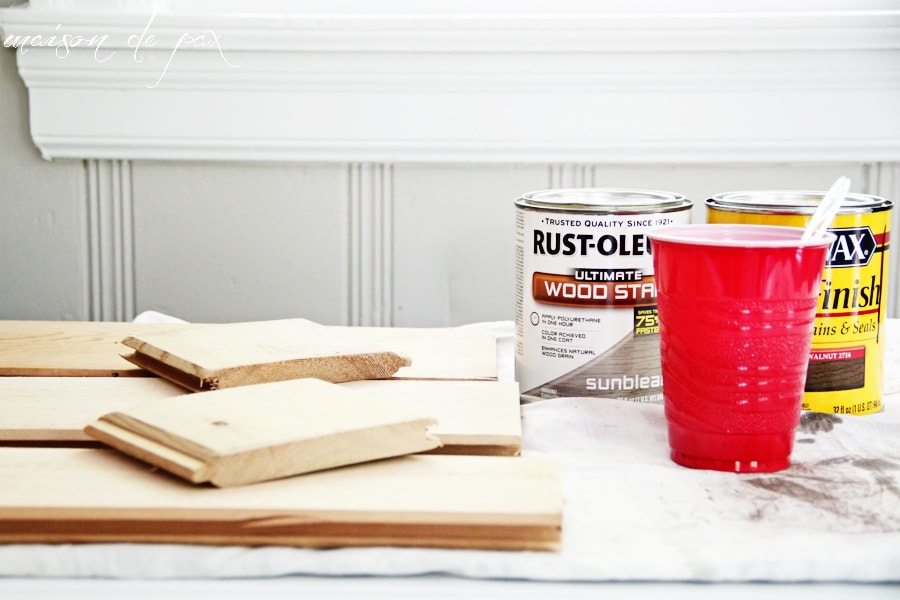 Simple tutorial for creating a weathered, rustic wooden box at maisondepax.com. Great for centerpiece, flowers, vases, jars, etc.