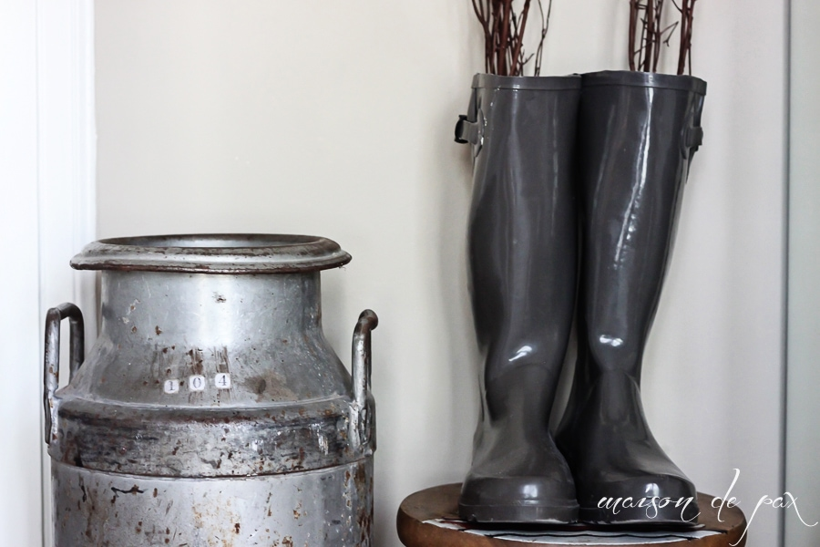 Fall Boots and Decor- Maison de Pax