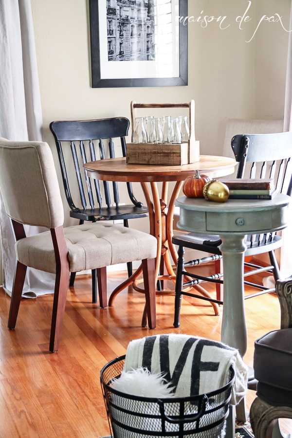 Home tour - full of fall decorating ideas- Maison de Pax