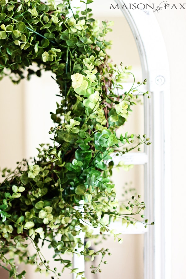 DIY gorgeous eucalyptus wreath- Maison de Pax