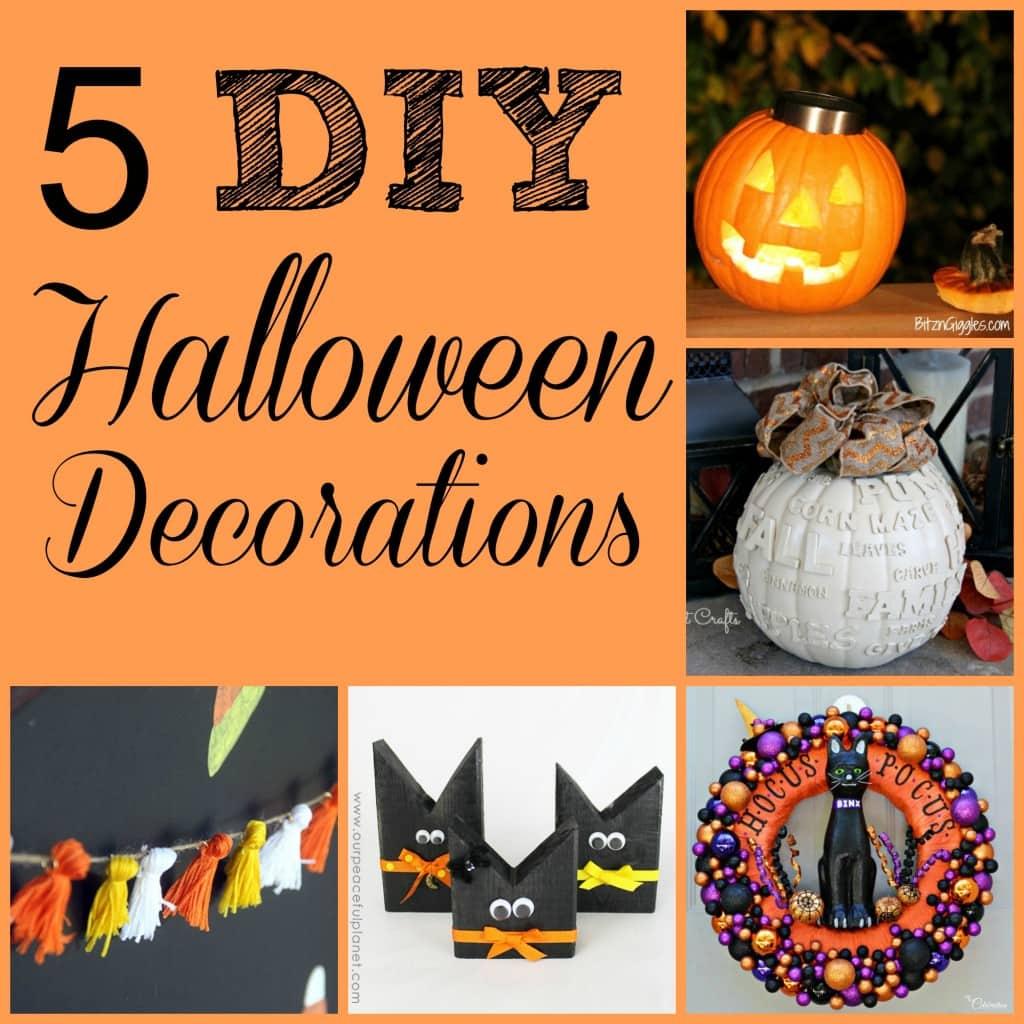 Diy halloween decorations m mj 77 maison de pax for M m halloween decorations