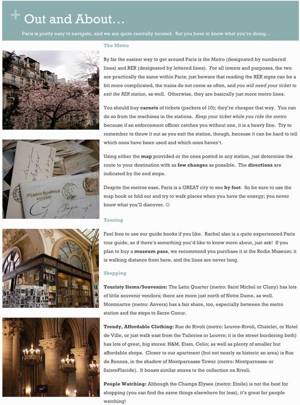 French travel guide- Maison de Pax