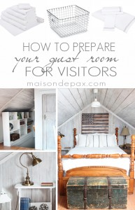 How To Prepare Your Guest Room