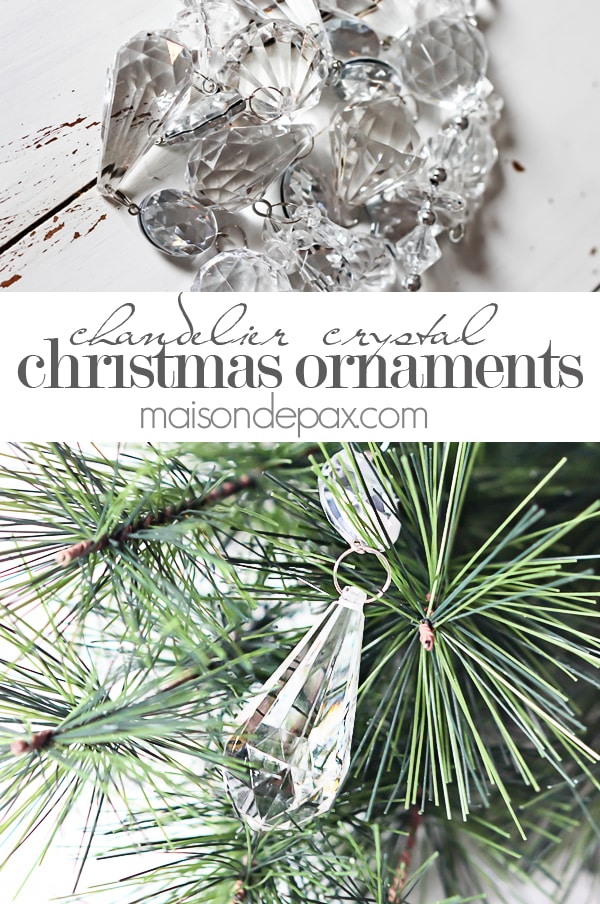 Crystal ornaments- Maison de Pax