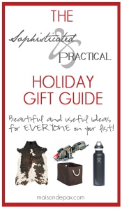 Favorite Things {Gift Guide and Giveaway}