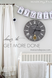 How to Get More Done (And a Giveaway!)
