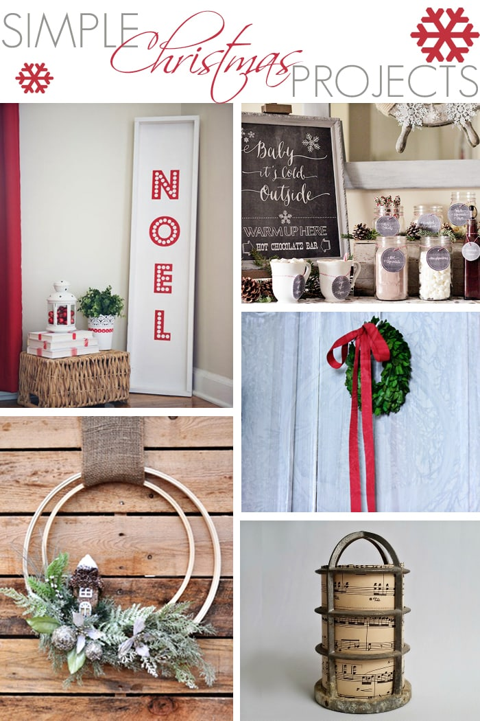 adorable and simple DIY projects, crafts, and printables for the Christmas holidays via maisondepax.com