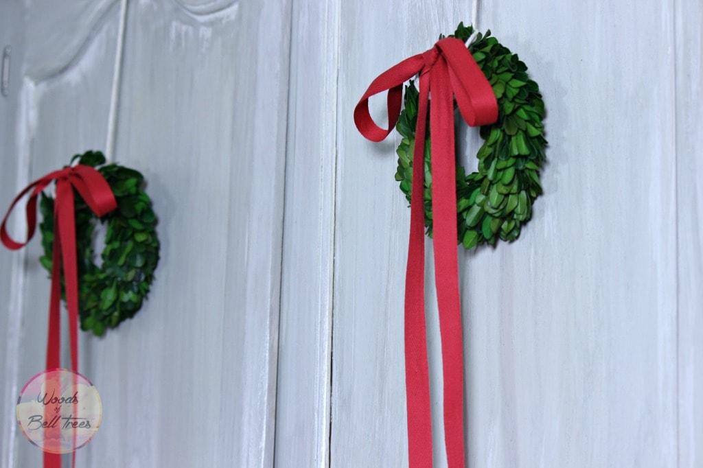Mini Boxwood Wreaths