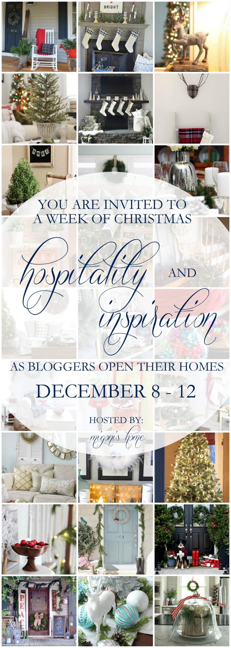 Incredible collection of stunning Christmas home tours- Maison de Pax