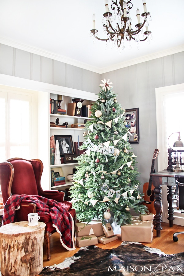 Christmas Living Room- Maison de Pax