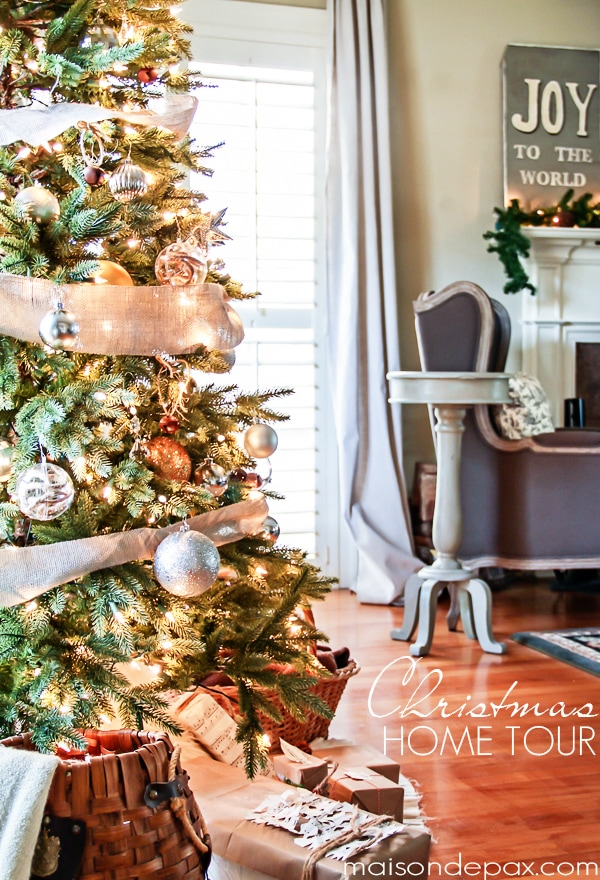 Gorgeous Christmas home tour - Maison de Pax