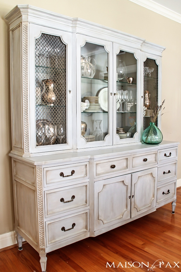 Painted Hutch- Maison de Pax