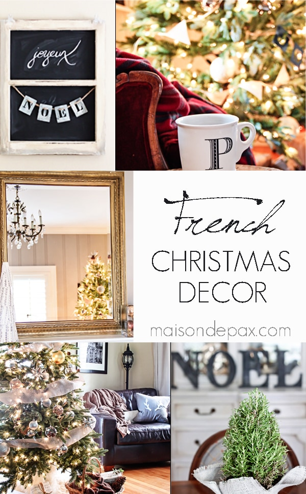 gorgeous inspiration and tons of ways to incorporate French decor into your holiday home via maisondepax.com