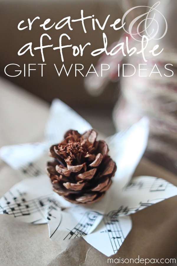 so many gorgeous gift wrap ideas! via maisondepax.com