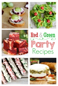 Red & Green Holiday Party Recipes (M&MJ #86)