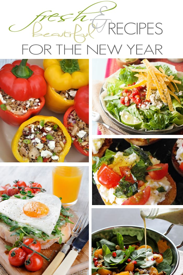 Looking for delicious, healthy recipes for the New Year?  Try these fresh and beautiful options!