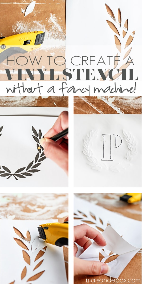 How To Create A Vinyl Stencil