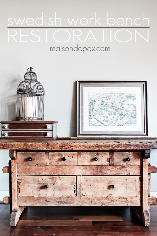 when not to paint furniture - Maison de Pax