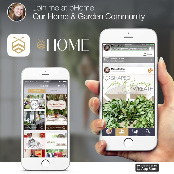 join the home and garden community at bHome!