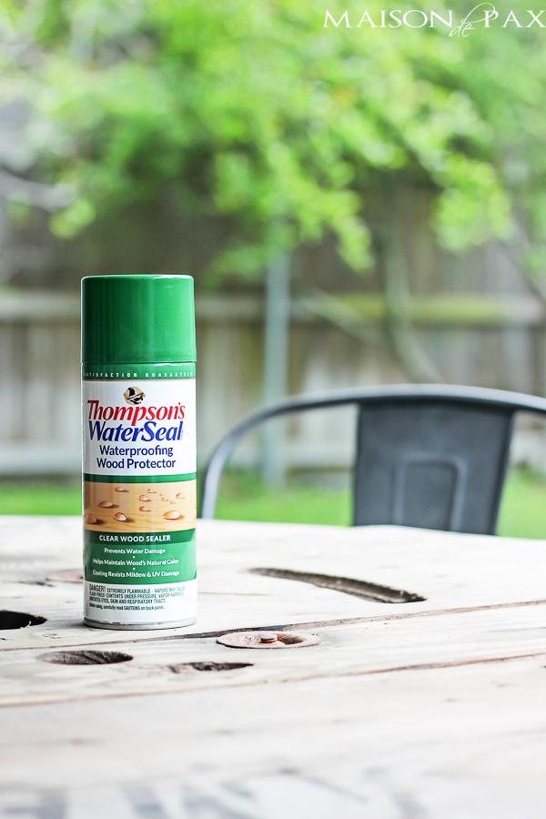 Easiest Way To Waterproof Outdoor Wood Furniture Ever Maisondepax