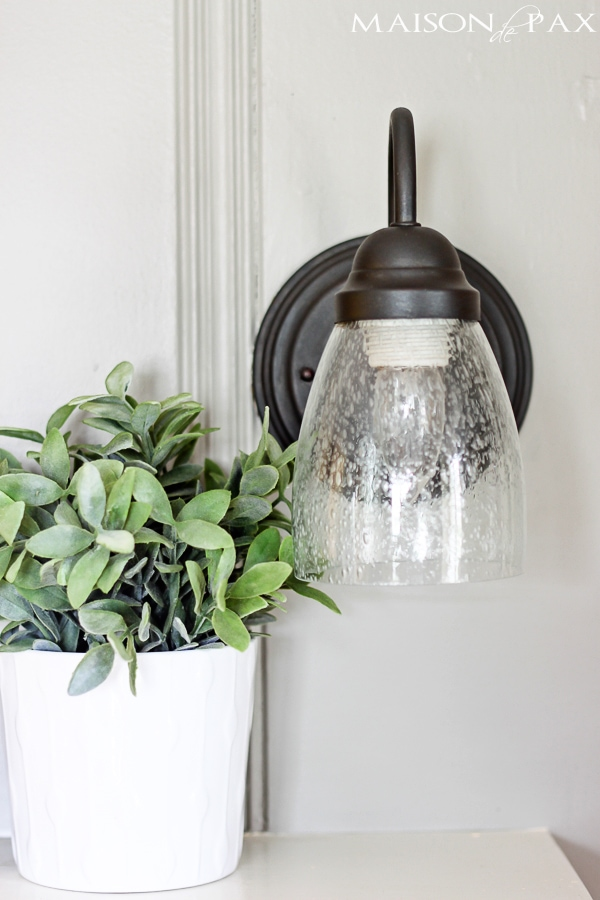 Awesome $4 update to outdated light fixtures! maisondepax.com